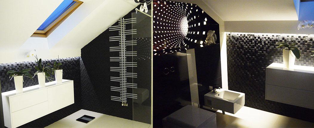 łazienka Glamour Art Cub Wykończenia Wnętrz Sklep Z